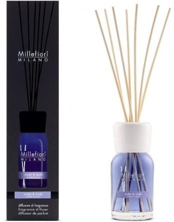 Millefiori Milano geurstokjes Violet & Musk 100ml