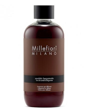Millefiori Milano navulling Sandalo Bergamotto - 250ml