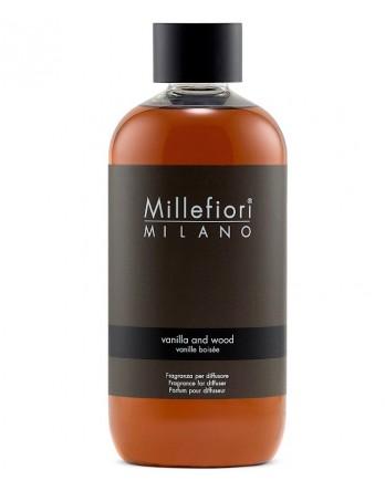 Millefiori Milano navulling Vanilla & Wood - 250ml