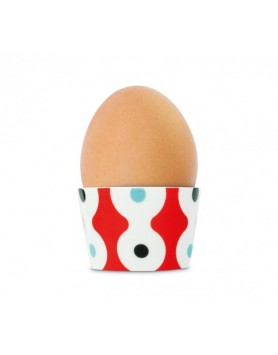 Remember eierdop porselen - dots