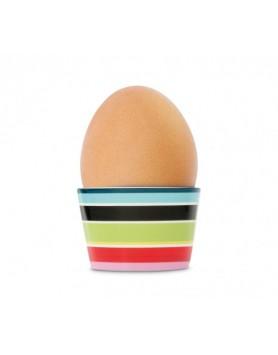 Remember eierdop porselen - stripy