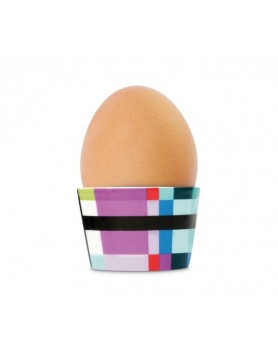 Remember eierdop porselen - zigzag