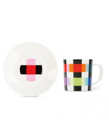 Remember - espresso kop + schotel - colour caro