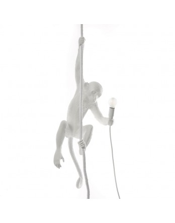 Seletti Monkey Hanging lamp plafond - wit