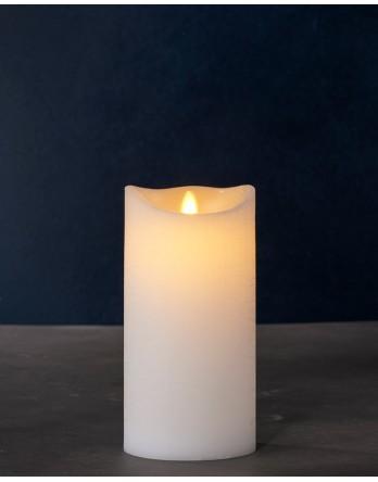 Sirius Sara wax kaars met beweegbare vlam 20cm