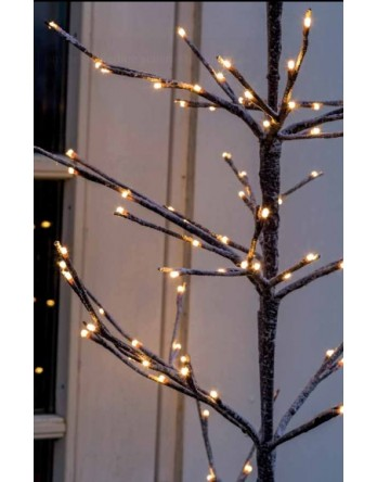 Sirius Alex kerstboom H90 120 leds snowy white