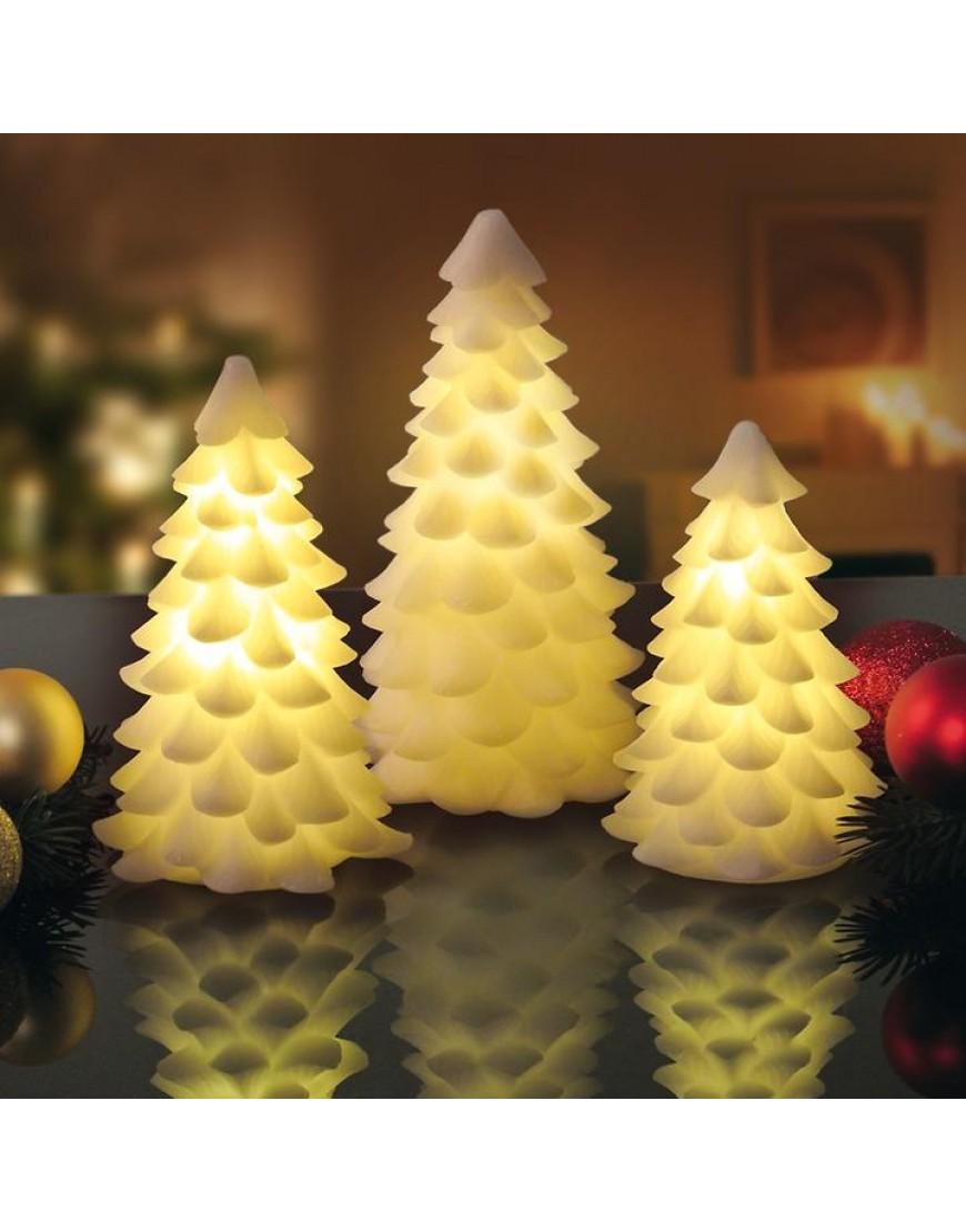 sirius carla kerstboom 16 cm wit led verlichting