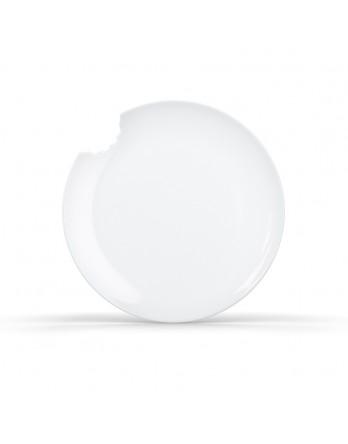 Tassen - ontbijtbord set 2 stuks - dia 20cm wit