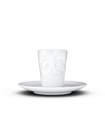 Tassen  - espresso kop en schotel - lecker