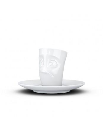 Tassen  - espresso kop en schotel - verdutzt