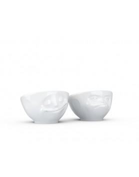 Tassen - Eierdopje Happy & Hmpff - set 2 st