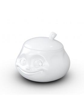 Tassen - Happy Faces suikerpot met deksel
