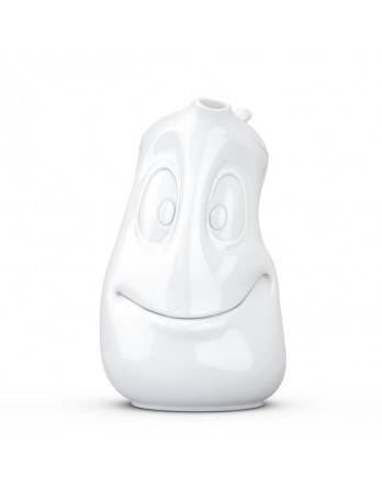 Tassen - Happy Faces theepot wit 1200ml