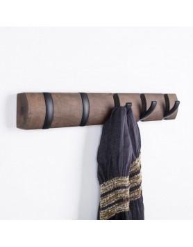 Umbra Flip - kapstok - 5 haken 55cm - zwart