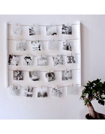 Umbra Hangit foto display - wit