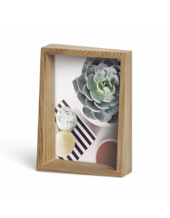Umbra Edge Foto display / fotolijst - naturel essen 13x18