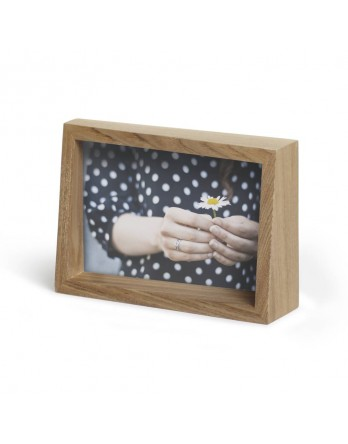 Umbra Edge Foto display / fotolijst - naturel essen 15x10