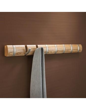 Umbra Flip - kapstok - 8 haken 84.5cm - naturel