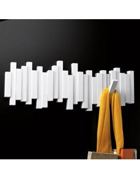 Umbra Sticks - kapstok - 5 haken 48.3cm - wit