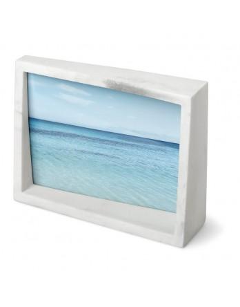 Umbra Edge Foto display / fotolijst - wit marmer 13x18