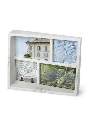 Umbra Edge Multi Foto display / fotolijst wit marmer