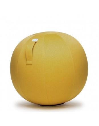 Vluv LEIV zitbal mustard 60-65cm
