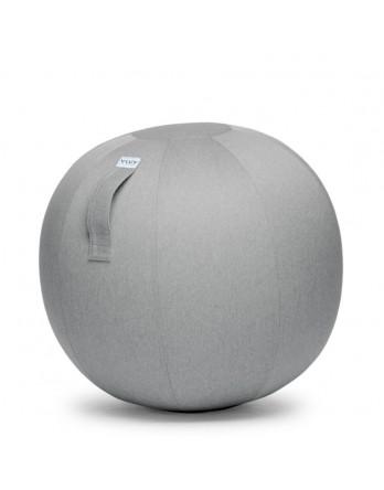Vluv LEIV zitbal zilvergrijs 60-65cm