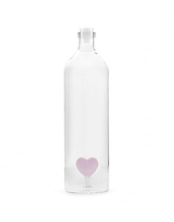 Balvi waterfles / karaf glas Love 1.2 liter
