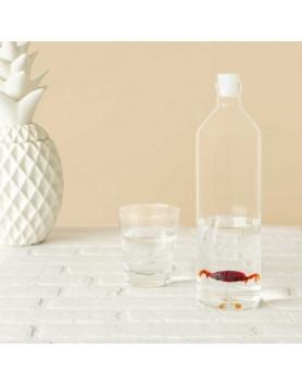 Balvi waterfles / karaf glas Krab 1.2 liter