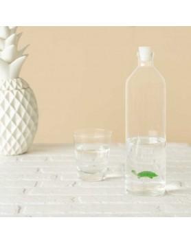 Balvi waterfles / karaf glas schildpad 1.2 liter