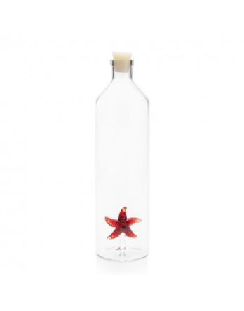 Balvi waterfles / karaf glas Starfish / zeester
