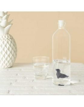 Balvi waterfles / karaf glas Zeehond