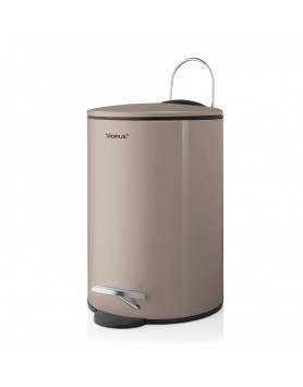 Blomus pedaalemmer Tubo soft close - 3 L - taupe