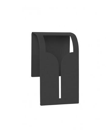 Blomus BOGO handdoekklem staal zwart