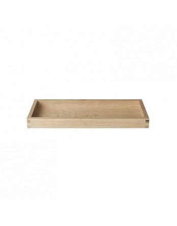 Blomus Borda dienblad eiken houten 12.5 x 30 cm