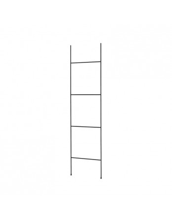 Blomus Fera handdoekenrek / ladder - zwart