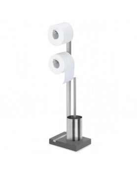 Blomus Menoto toiletbutler / toilet set mat RVS