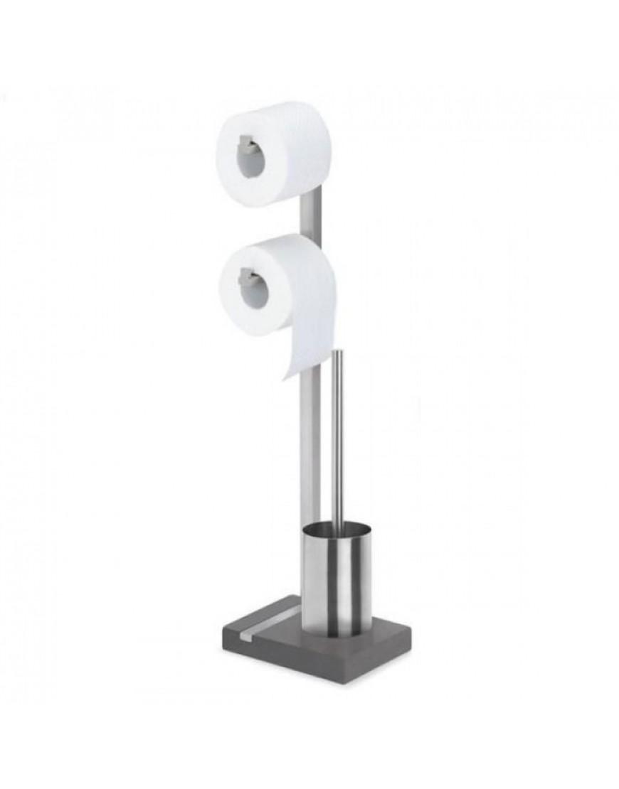 blomus menoto toiletbutler toilet set mat rvs. Black Bedroom Furniture Sets. Home Design Ideas