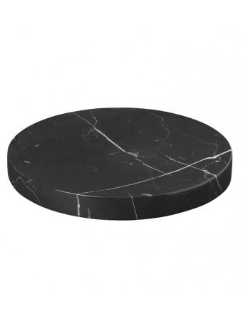 Blomus Pesa tray / zeepschaal marmer zwart
