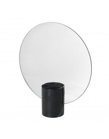 Blomus Pesa staande tafel spiegel marmer zwart