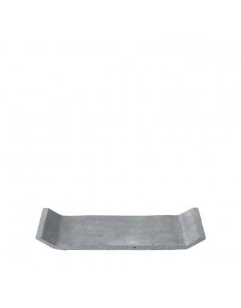 Blomus tray Moon polystone grijs 12x29.5
