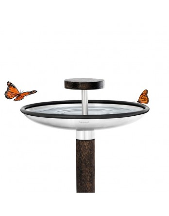 Blomus Fuera - bird feeder / bird bath - rvs