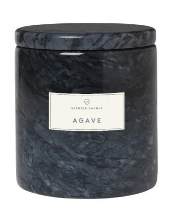 Blomus Frable Agave geurkaars marmer magnet