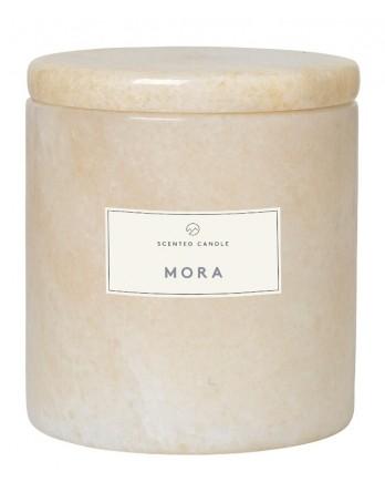 Blomus Frable Mora geurkaars marmer moon