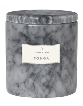 Blomus Frable Tonga geurkaars marmer sharkskin