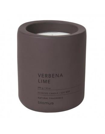 Blomus Fraga geurkaars beton L verbena - lime