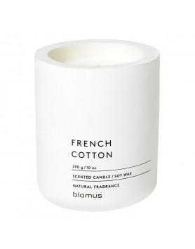 Blomus Fraga geurkaars beton L wit - french cotton