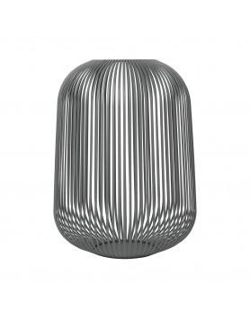 Blomus Lito Lantaarn staal groot - steel grey