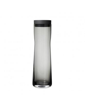 Blomus Splash waterkaraf zwart glas 1L