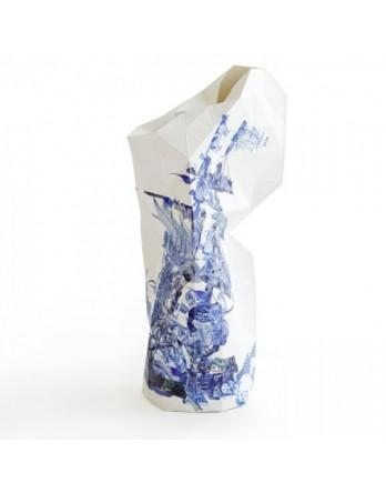 Pepe Heykoop - Paper Vase Cover - delftsblauw